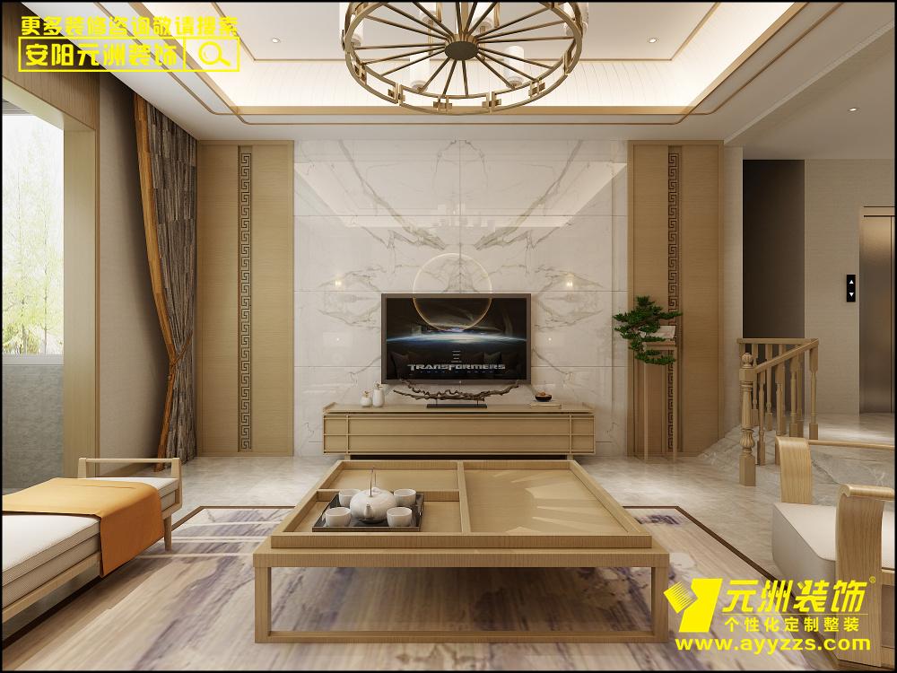 汤阴易苑国际·400平米·新中式